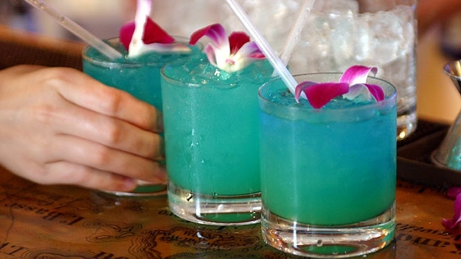 Blue Hawaiian, de blauwe cocktail